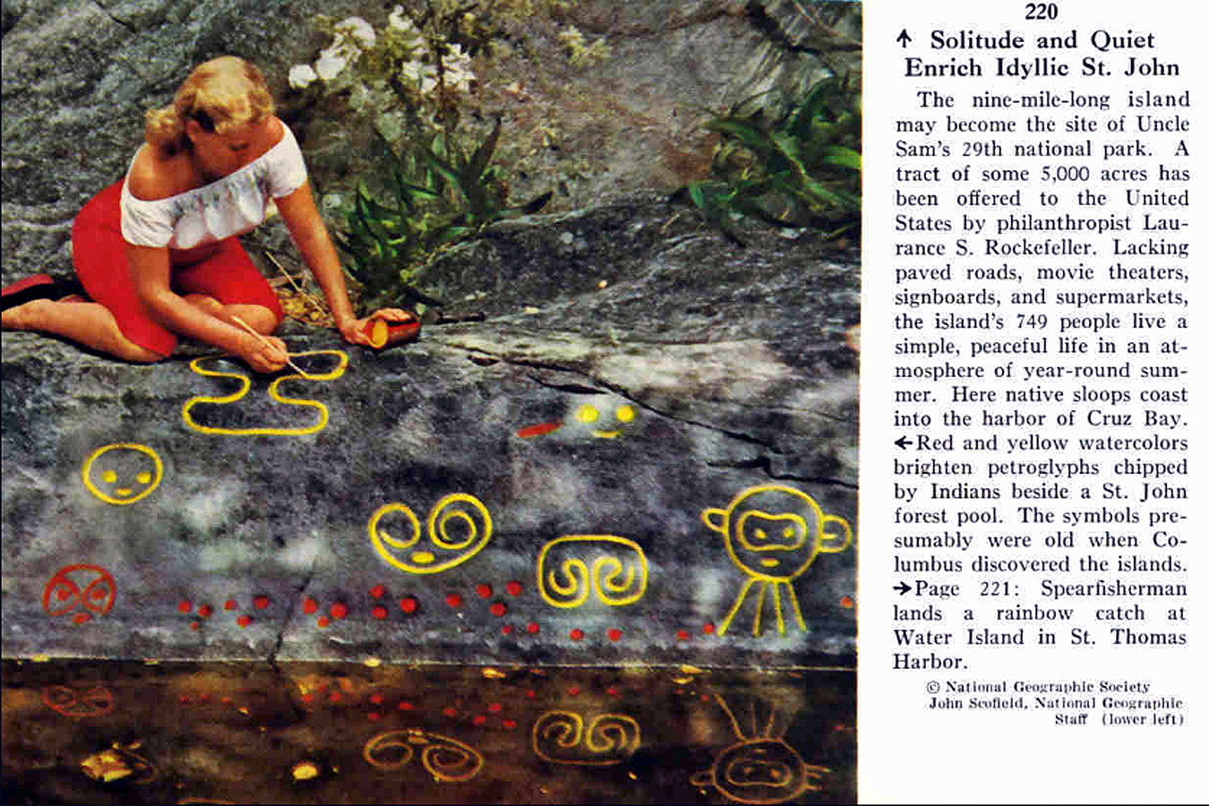 National Geographic February 1956