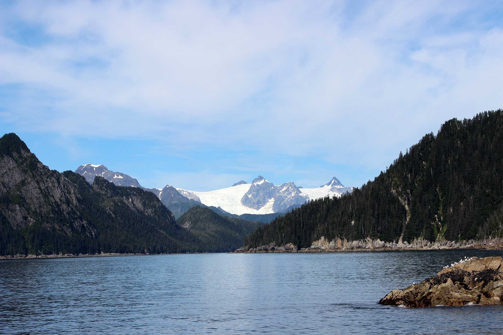 Kenai Fjords As They Are Exploring The National Parks