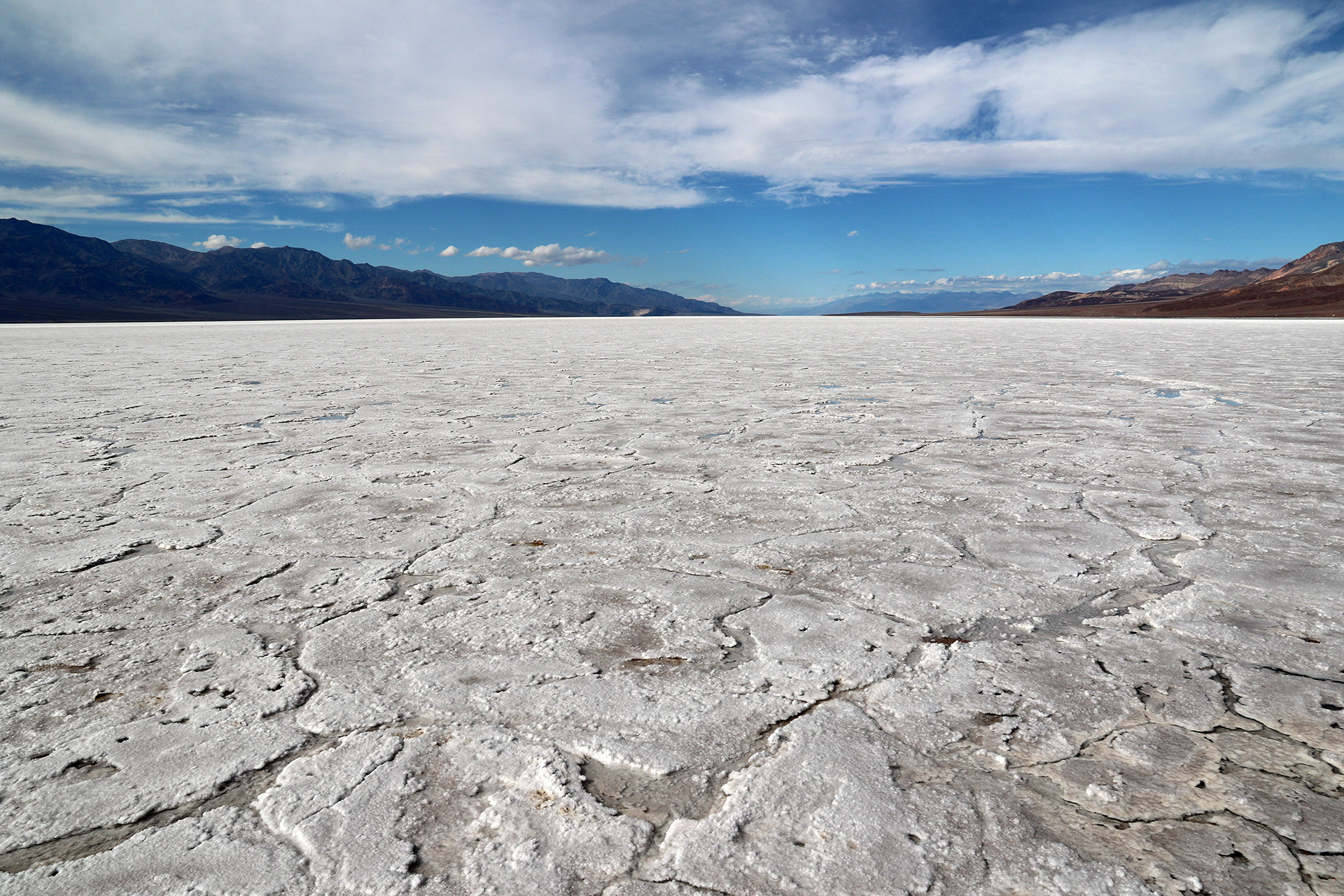 death valley national park badwater basin the bottom of north
